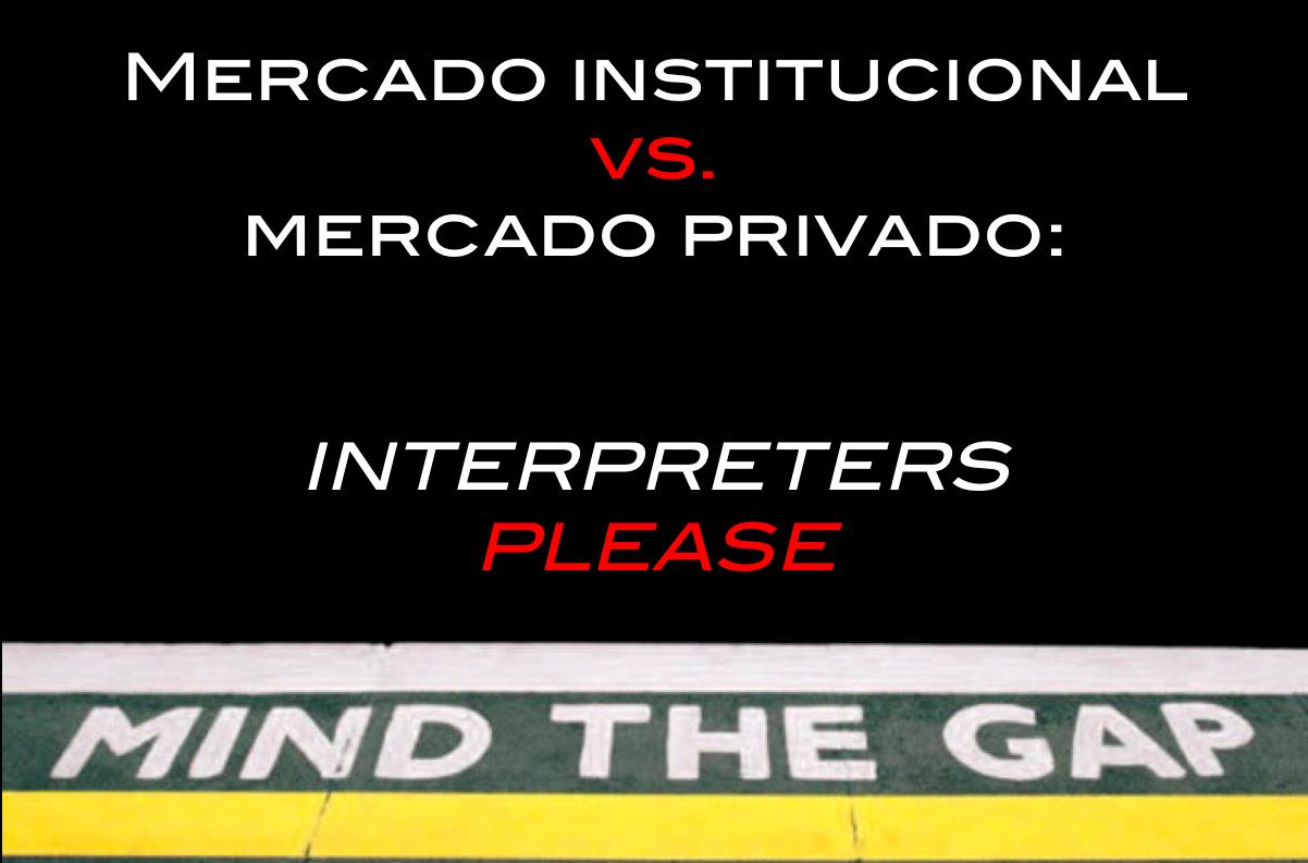 retour mercado privado institucional interpretación